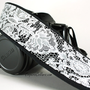 Camera Strap, Lace 2, Black, White, dSLR, SLR