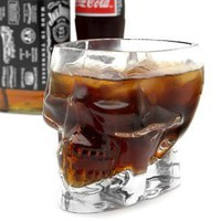 Half Liter Pirate Skull Glass