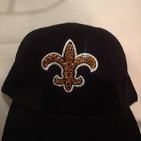 SWAROVSKI  Embellished Rhinestone SAINTS  Cap/Hat  LAST ONE