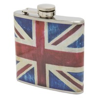 Metal Morphosis Union Jack Stainless Steel Flask