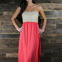 Secret Garden Strapless Maxi II