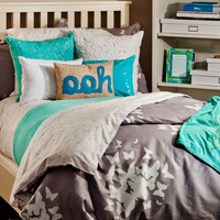 Reversible Twin XL Duvet Set - Believe/Pinwheel