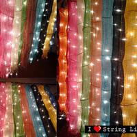Cotton Hanging Lights For Wedding and House decoration (Colour variation)