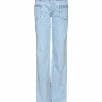 mytheresa.com - Chloé - WIDE-LEG JEANS - Luxury Fashion for Women / Designer clothing, shoes, bags