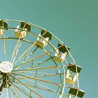 Ferris Wheel Photo 8x10 Carnival Print Limited by ArtbyHeatherRose