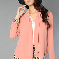 The Soft Blazer in Rose : Mink Pink : Karmaloop.com - Global Concrete Culture