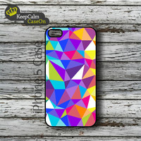 iPhone 5 Case, Geometric Pattern iPhone Case Hard Fitted iPhone 5 Case, iPhone 5 Hard Case