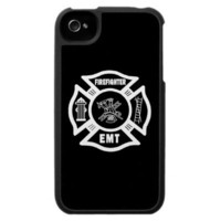Fire Fighter EMT iPhone 4 Case from Zazzle.com