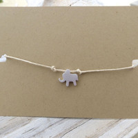 Lucky Elephant Charm Bracelet