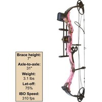 Cabela's: Diamond Archery Infinite Edge Bow Package — Pink Blaze