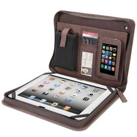 The Kangaroo Leather iPad Portfolio.