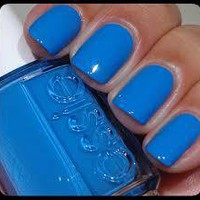 ESSIE 2013 SPRING COLLECTION &quot;AVENUE MAINTAIN&quot; BLUE NAIL POLISH! 1 FULL BOTTLE!