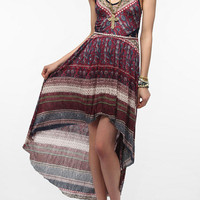 Urban Outfitters - Ecote Lace Inset Knit Maxi Dress