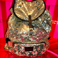 SOLD OUT Victoria Secret PINK BLING Sequin Fashion Show Backpack