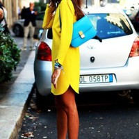 Head Turning Trend: Bright Sunshine Yellow