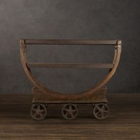 Vintage Wallpaper Factory Bar Cart | Decorative Accents | Restoration Hardware