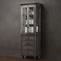 Zinc Medium Bath Cabinet | Zinc | Restoration Hardware