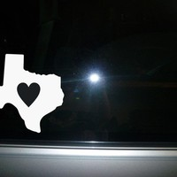 car decal Texas State vinyl sticker NEW
