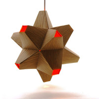 Paper Origami Light - Woodgrain