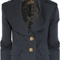 Vivienne Westwood Anglomania|Stretch-cotton jacket|NET-A-PORTER.COM