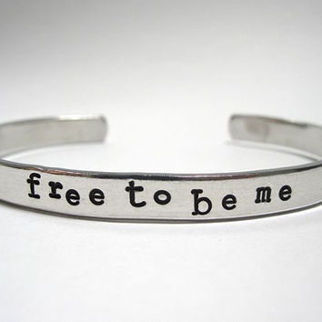 Free To Be Me- Cuff Bracelet