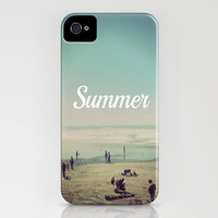 Summer iPhone Case by Hannah Kemp | Society6