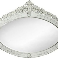 One Kings Lane - Mirror Fair - Oval Venetian-Style Mirror II
