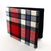 Supermarket - Plaid Wallet - Recycled Shirt and Suit from prix-prix