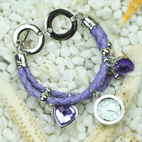 Romantic Hearts Bracelet Watch