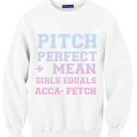 Pitch Perfect + Mean Gilrs Equals ACCA FETCH!