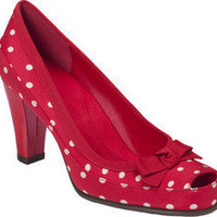 Aerosoles Benefit - Red Polka Dot - Free Shipping & Return Shipping - Shoebuy.com