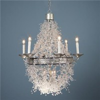 Dripping Luminosity Basket Chandelier - Shades of Light
