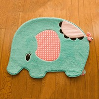 Girl Elephant Door Mat For Bathroom/Bedroom
