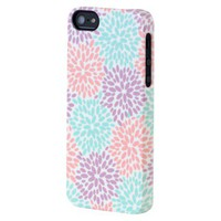 Uncommon Fireworks Floral Pastel Deflector Cell Phone Case for iPhone 5 - Multicolor (C0070-T)