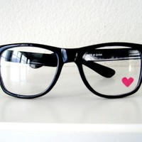 Nerdy Heart Glasses