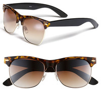 Icon Eyewear 'Gloria' Retro Half Wire Frame Sunglasses | Nordstrom
