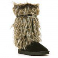 Fur Boot Wraps and Fur Boot Covers | Shearling Boot Accessories
