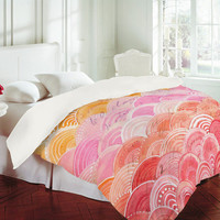 DENY Designs Home Accessories | Cori Dantini Warm Spectrum Rainbow Duvet Cover