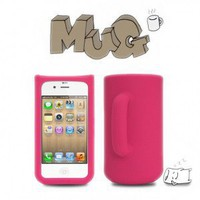 Most Creative iPhone 4/4S Cases - Mug iPhone 4/4S Silicon Case