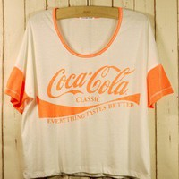 Retro Neon Print T-shirt - Retro, Indie and Unique Fashion