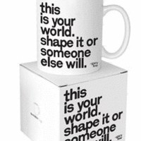 This Is Your World - G. Lew Mug