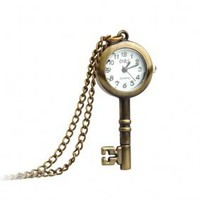 Antique Key Necklace Pendant Quartz Pocket Watch wx013027 - &amp;#36;7.94