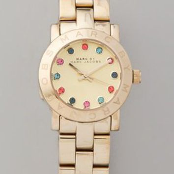 Marc by Marc Jacobs Amy Multicolored Glitz Watch | SHOPBOP