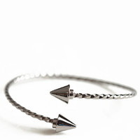 Gunmetal Vector Bracelet - $14.00 : ThreadSence, Women's Indie & Bohemian Clothing, Dresses, & Accessories
