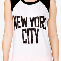 New York City Muscle Tee | FOREVER 21 - 2041934591
