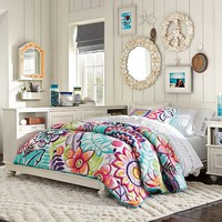 Keala Floral Quilt + Sham