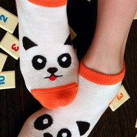 Hello Panda Slipper Socks