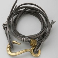 Giles  Brother Leather Wrap Bracelet