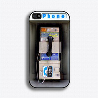 Vintage Pay Phone iPhone 4 Case iPhone 4s Case by iCaseSeraSera