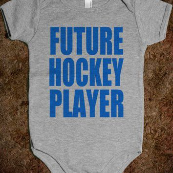 Future Hockey Player - Underline Designs